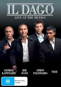 il Dago Live At The Metro DVD by Joe Avati