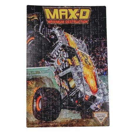 Monster Jam Max-D Foam Puzzle by Monster Jam