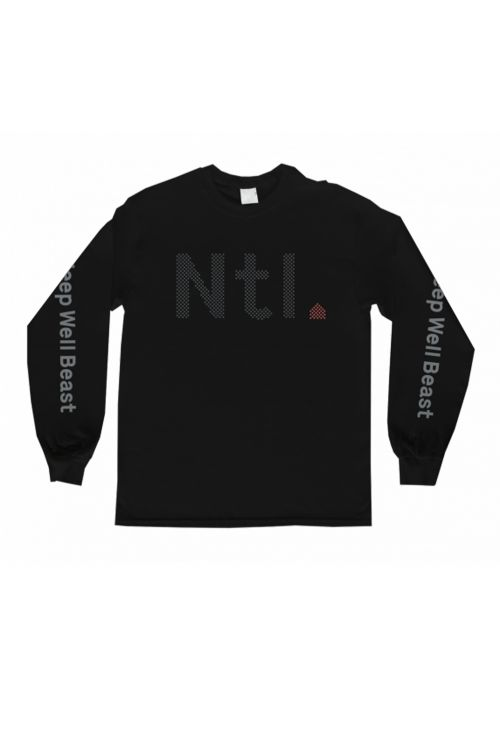 NTL Tour Black Longsleeve Tshirt by The National