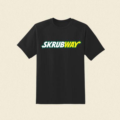 Skrubway Black Tshirt by Skrub