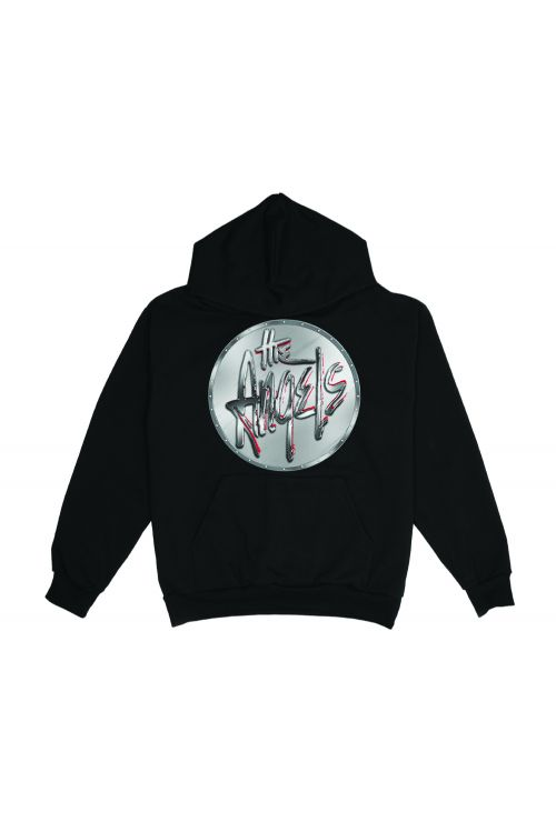 Chrome Black Hoody by The Angels