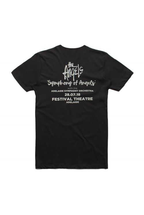 Symphony Of Angels Black Tshirt by The Angels