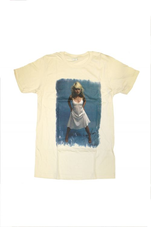Debbie Harry White Dress by Blondie