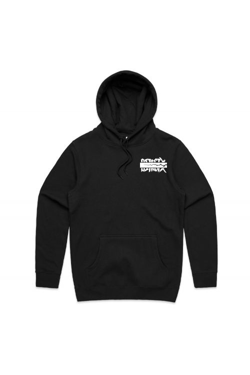 Cracked Black Hoody by District X