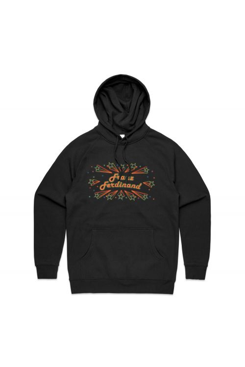 Barrowlands Black Hoody by Franz Ferdinand