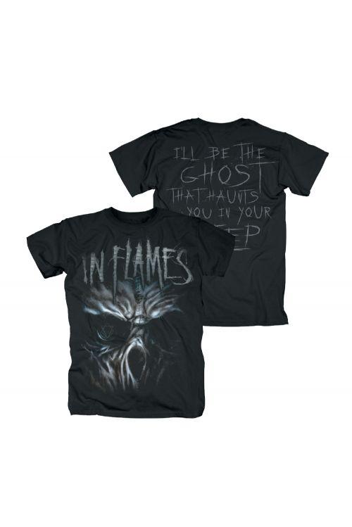 Ghost Black Tshirt by In Flames