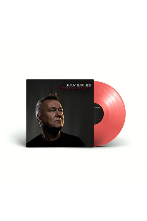 Flesh And Blood LP (Blood Red Vinyl) by Jimmy Barnes