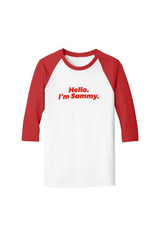 Major Party Tour Dates Red/White Raglan Tshirt by Sammy J