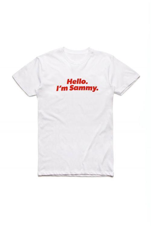 Major Party Tour Dates White Tshirt by Sammy J