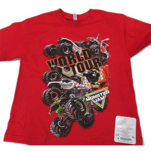 Monster Jam Series 2017 Red Youth Tee by Monster Jam
