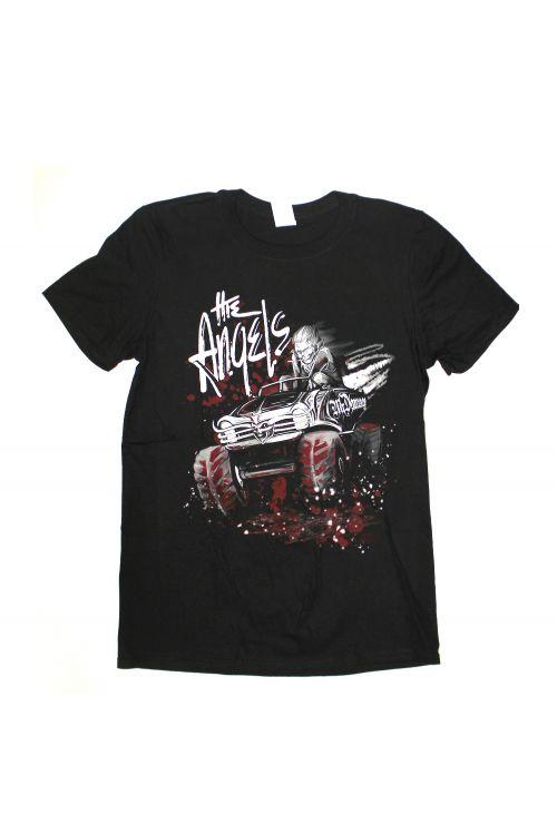 4 x 4 Tour 2017 Black Tshirt by The Angels