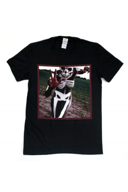 Skeleton Black Tshirt by Slipknot