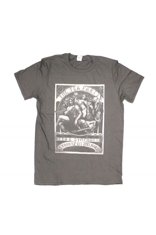 Symphony Charcoal Tshirt by The Tea Party