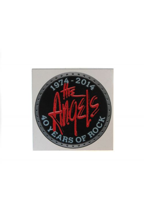 40th Anniversary Fridge Magnet by The Angels