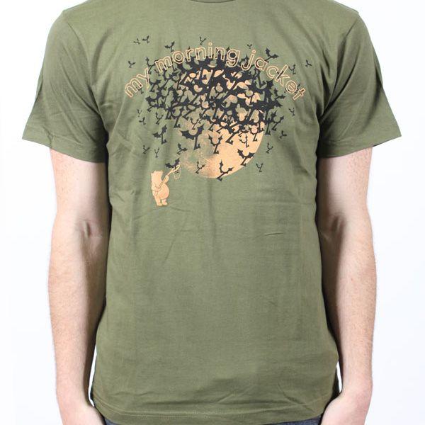 Bears & Bats Jungle Green Tshirt