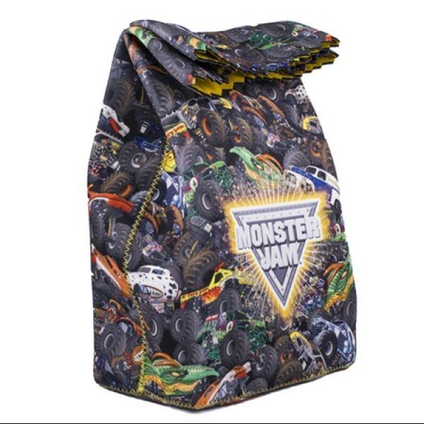 Monster Jam Foldover Lunch Bag