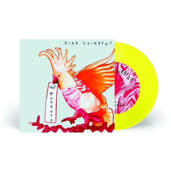 """Hey Wanhaka 7"""" Yellow Vinyl"""