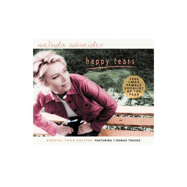 Melinda Schneider – Happy Tears CD (Special Tour Edition)