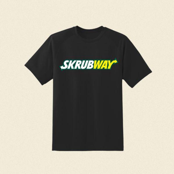 Skrubway Black Tshirt