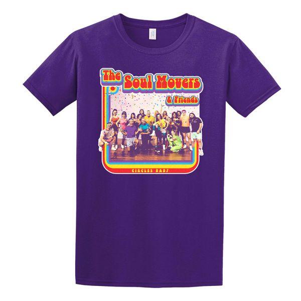 Circle Baby Purple Tshirt