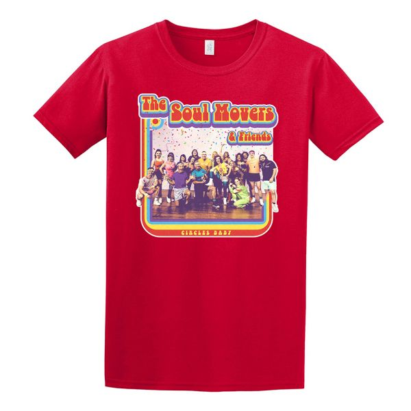 Circle Baby Red Tshirt