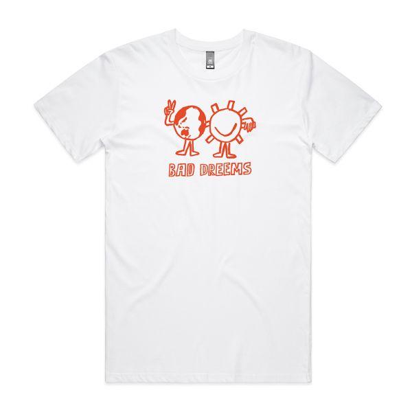Fire Aid 2 White Tshirt