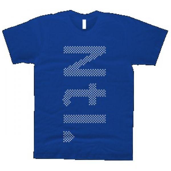 Vertical Royal Blue Tshirt