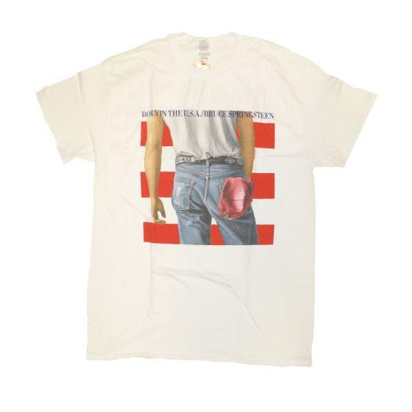 Born In The USA White Tshirt