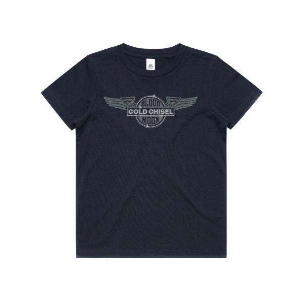 Wings Navy Youth Tee