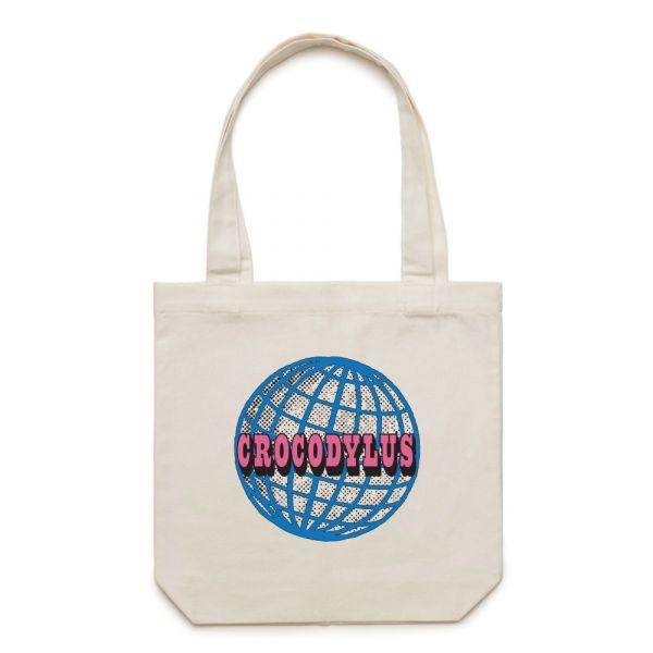Globe Tote Bag Natural
