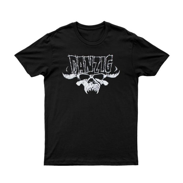 Skull & Logo Black Tshirt