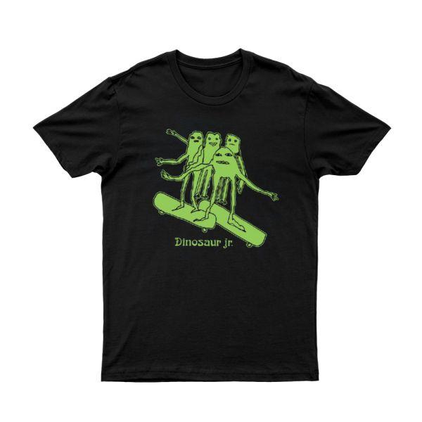 Skateboard Monsters Black Tshirt