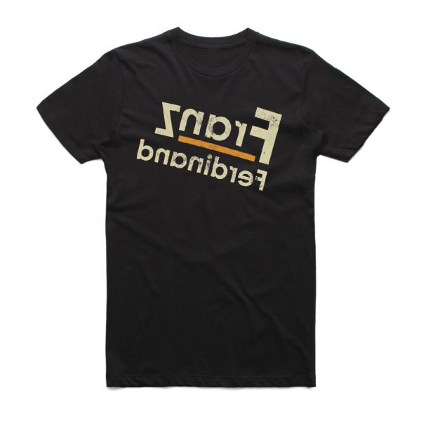 Traditional Logo Black Tshirt