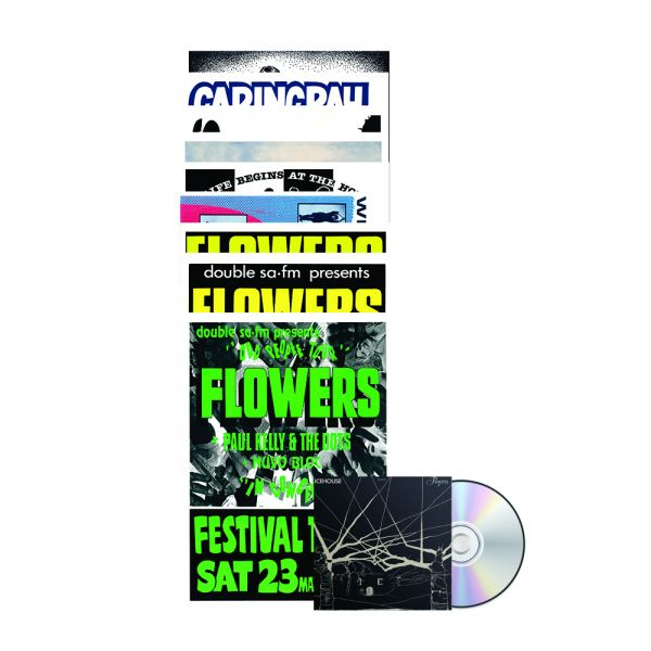Icehouse Plays Flowers CD/ Poster Set Bundle