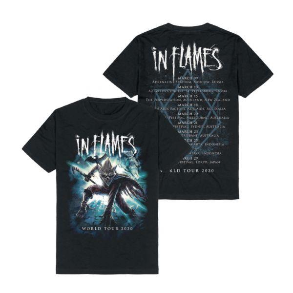 World Tour Black Tshirt