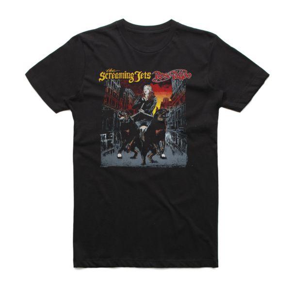Off The Chain Event Shirt Tour 2019 Black Tshirt (Tatts/Jets)