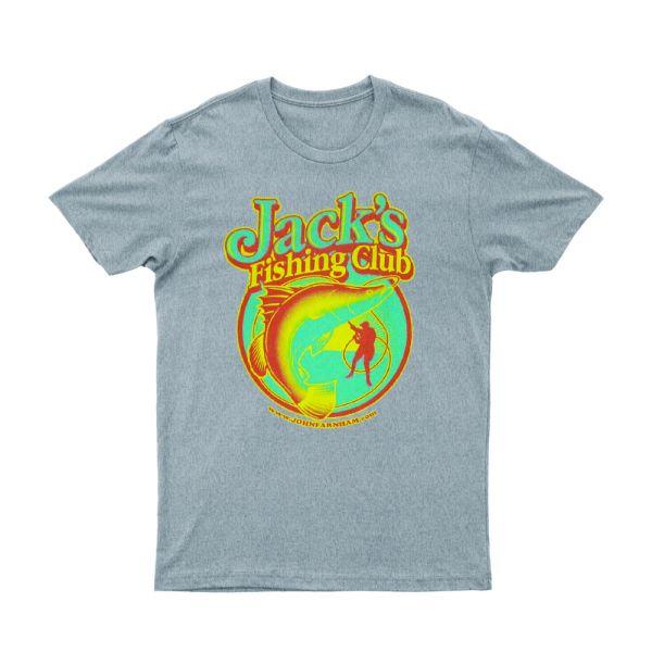 Jack's Fishing Club Grey MarleTshirt