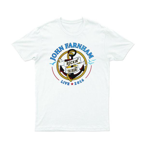 Rocking The Boat 2016 White Tshirt