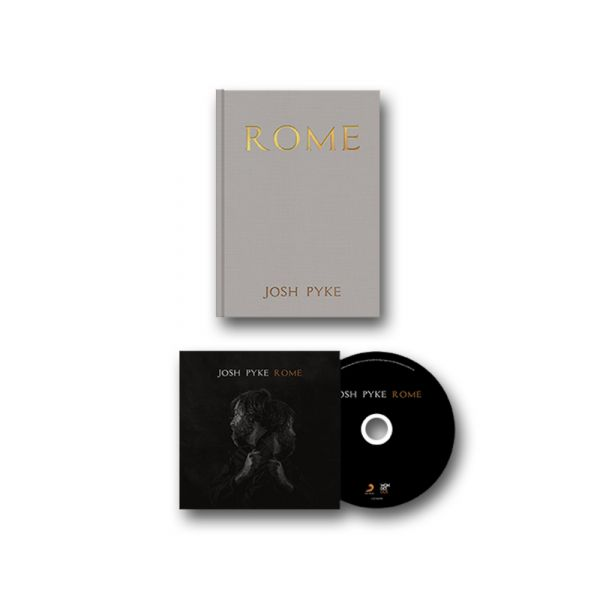 ROME - CD AND A5 HARDCOVER BOOK