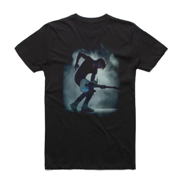 Graffiti Photo Black Tshirt