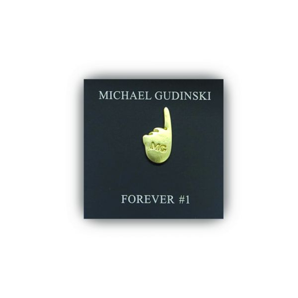 Forever #1 Lapel Pin