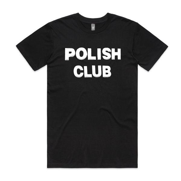 Classic Puffy Logo Black Tshirt