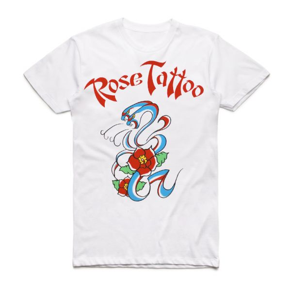 Rock N Roll Outlaw 40th Anniversary White Tshirt