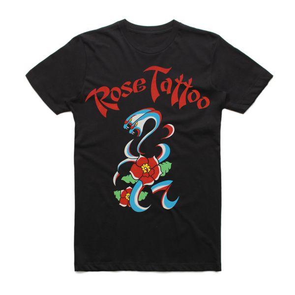 Rock N Roll Outlaw 40th Anniversary Black Tshirt
