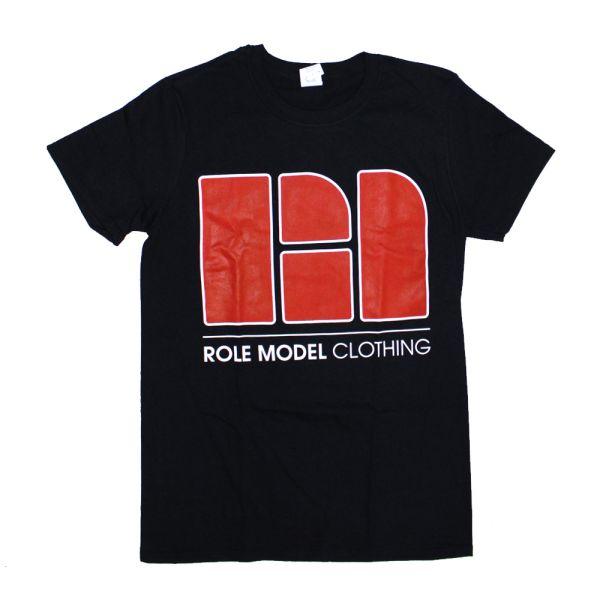 Role Model Clothing Black Tshirt