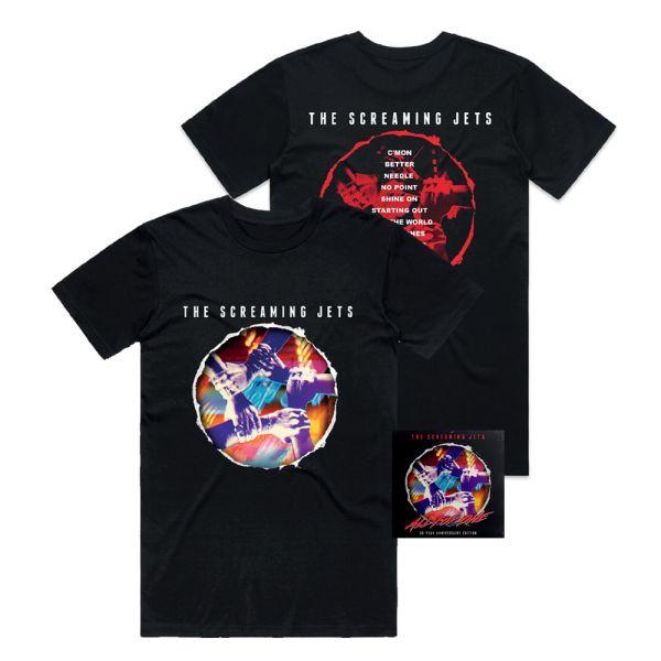 All For One - 30 Year Anniversary Edition CD + Black Tshirt