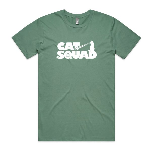New Cat Squad design without frame T-shirt (Multiple Colors Available)