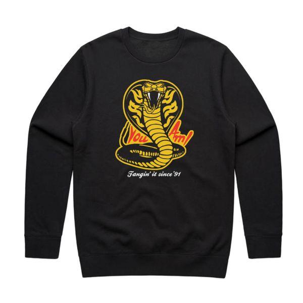 Fangin' It Black Sweater