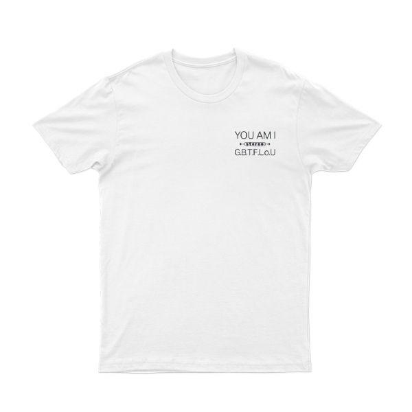 Stereo Kid White Tshirt