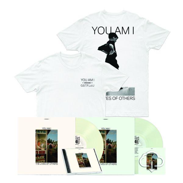 Spearmint Leaf Vinyl + Pinot Gris Vinyl + CD + Stereo Kid White T shirt + Lives Of others Digital Download
